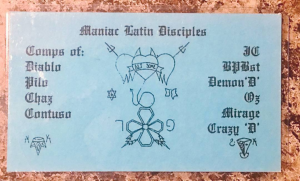 Maniac Latin Disciples | Chicago Gang History