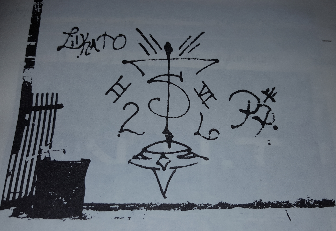 Gangster two six chicago gang history from a 1980s chicago police manual you can see the raised pitchfork from back when two six and satan disciples were allies buycottarizona Choice Image